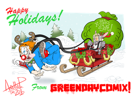 Happy Holidays From GDComix. by GreenDayComix