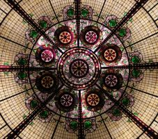 Stained Glass Dome by OpticalIlluzens