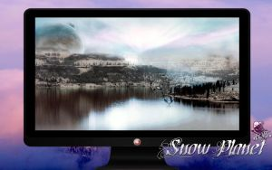 Snow Planet Wallpapers + logon by wallybescotty