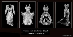 Fractal Stock - Dress Pack III by rockgem