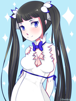 FanArt: Hestia by MeNomNoms