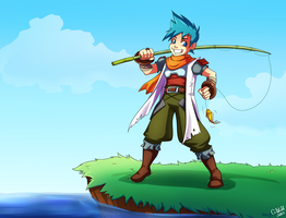 Even The Sun's Happy (Ryu Breath of Fire 3) by Otakatt