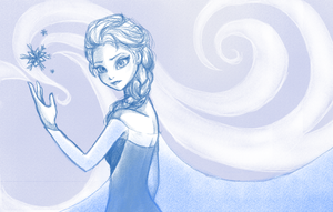 Elsa by monkeynova