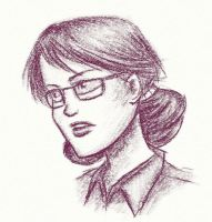 Miss Pauling Sketch by CryptCombat