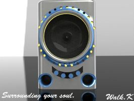 Anodized and Brushed Subwoofer by ColdMarch