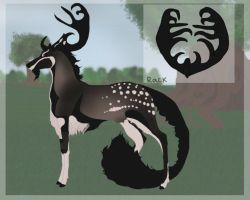 Gavriel| Stag| Royal Guard by Wild-Fawnz