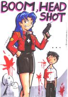 FPS Misato by 47ness