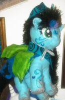 rainbow power Carity Coffee Hooves plush by mistresscarrie