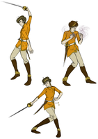 Action Scribbles II by kiffyplaysdnd