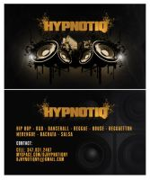 Hypnotiq Business Card by Alucard309