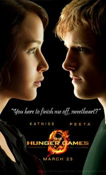 Katniss and Peeta - TGH - by thecrazythingsofRomy