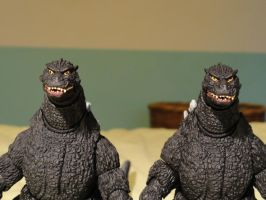 S.H Monsterarts Godzilla 1994 - June Release 2/3 by GIGAN05