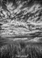 Fire in the Sky BW by mjohanson