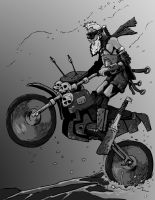 Biker Slaver by pictishscout