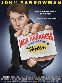 Captain Jack Harkness - Time Agent by KPants