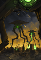 War of the worlds by Earl-Graey