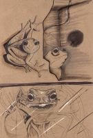 frogs by tenseone