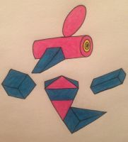 Mega Porygon-Z by MrMrannoying