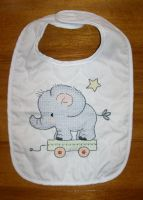 Elephant Bib by cloudrat