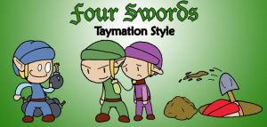 Taymation Four Swords by TerdBurgler