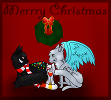 Merry Christmas  by x-Blacky-x
