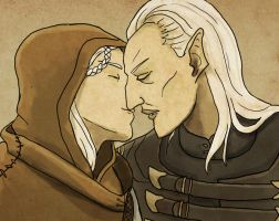 Kiss by LMColver