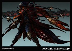 Demonic Pirate Lord by jubjubjedi