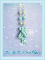 Pointe Necklace by Nika-N