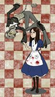 American McGee's Alice: Cheshire and Alice by minsunwolf