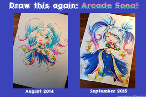 Draw this again - Arcade Sona by Lighane