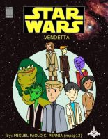 Star Wars fan comic cover by mpcp13