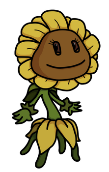 PvZ Armagarden Sunflower  by Sonicjeremy