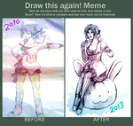 Draw it again meme by miyuishina
