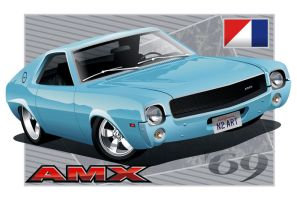 '69 AMC AMX by kenpoist