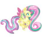 RainbowPowerFluttershy by ChiuuChiuu