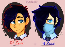 Two Zanes by egardanier
