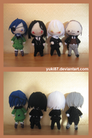 ArtTrade: 4x Black Butler by Yuki87
