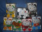 McDs hello kitty world cup 2014  complete set by aohoshi2008