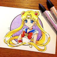 Sailor moon by LtiaChan