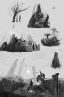 Sketches by ChrisJRees