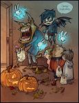 We trick or treat too by Cabycab