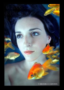 Gold Fish Bowl by lucias-tears