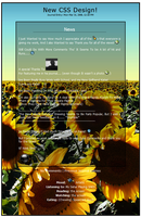 Flowers Of The Sun Journal CSS by GeekGod4