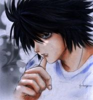 L Lawliet by barbypornea by L-Lovers-Club