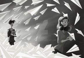 Paperman by GretaGreta