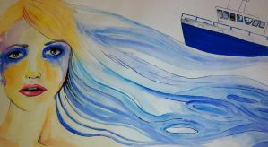 Boat series 1 by Maevethebrave