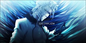 Grimmjow signature by ksop
