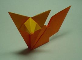 Origami fox ::tutorial:: by guspath