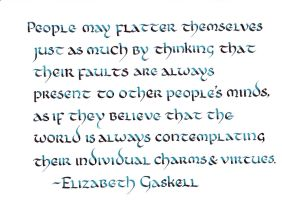 Elizabeth Gaskell - People May Flatter Themselves by MShades