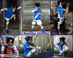 Sasuke Uchiha Cosplay Collage by pikabellechu